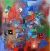Herz, Acrylmalerei, Weg, Malerei