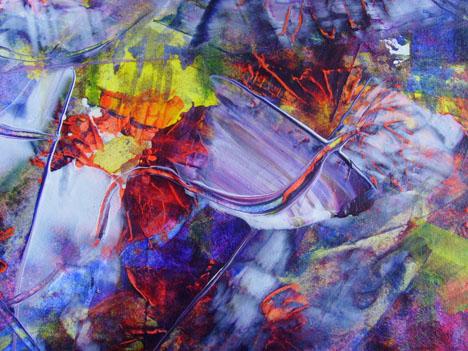 Acrylmalerei, Abstrakt, Acrilico, Malerei, Suche, Ausschnitt