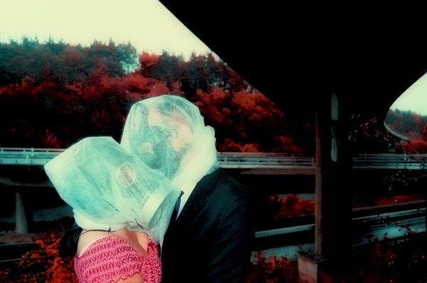 Gasmaske, Magritte, René magritte, Die liebenden,