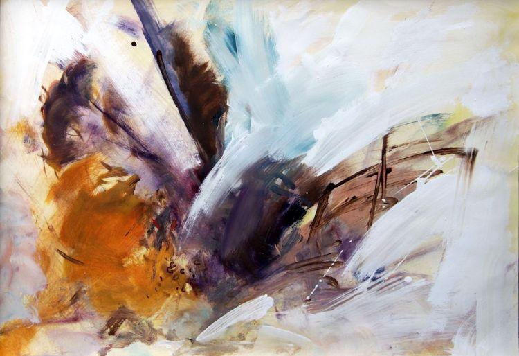 Sturm, Wind, Eis, Malerei