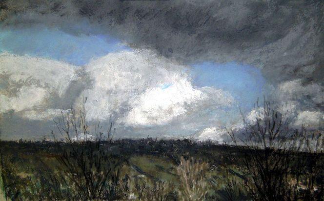 Wolken, Malerei