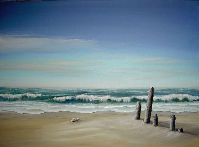 Licht, Natur, Ölmalerei, Sonne, Realismus, Wasser