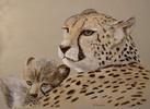 Natur, Malerei, Katze, Realismus