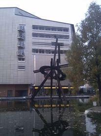 Skulptur, Potzdamer platz, Fotografie, Reiseimpressionen