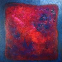 Farbfeldmalerei, Colorfield, Gemälde, Malerei