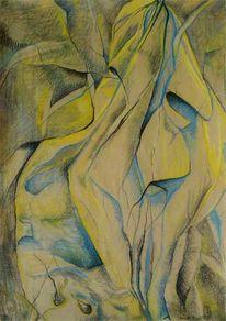 Pastellmalerei, Kohlezeichnung, Zeichnung, Zeichnungen