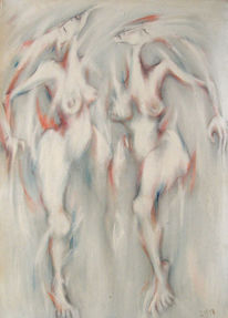 Expressionismus, Salsa, Malen, Acrylmalerei