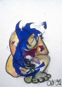 Ansicht, Malen, Malerei, Expressionismus