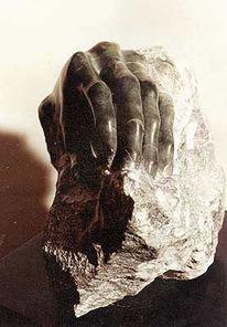 Ewigkeit, Suche, Skulptur, Steatit