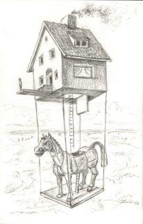 Spielzeug, Traumhaus, Alltag, Trojanisches pferd