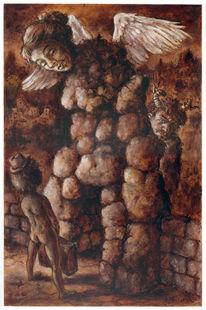 Pupertät, Allegorie, Traum, Figur