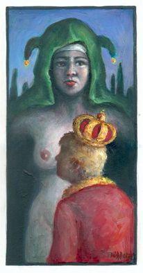 Frau, Heilig, Madonna, Pupertät