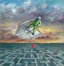 Flieger, Mythologie, Fliegen, Aufstieg