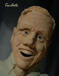 Ton, Plastik, Keramikfigur, Skulptur