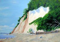 Meeresmotiv, Kreidefelsen, Küstenimpressionen, Meerblick