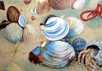 Küstenimpressionen, Marinemalerei, Stillleben, Meerblick