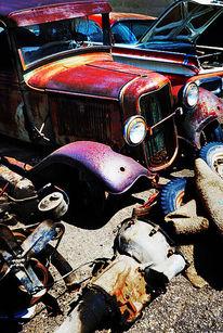 Utah, Oldtimer, Schrottautus, Autofriedhof
