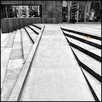 Jahreszeiten, Treppe, Stadt, Architektur