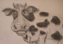 Kuh, Zeichnungen, Kinderzimmer