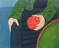 Malerei, Figural, Granatapfel
