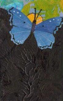 Schmetterling, Taschenkunst