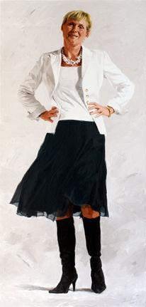 Porträtmalerei, Portrait, Frauenportrait, Frau
