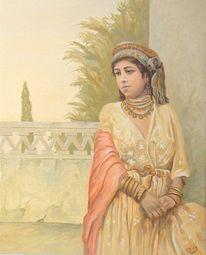 Orientalismus, Maghreb, Frau, Contemporain