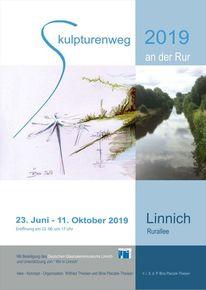 Rur, Skulpturenweg, Linnich, Installation