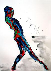 Zurückschrecken, Caravaggio, Ballett, Malerei