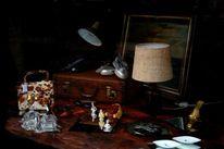 Antik, Hausrat, Gemälde, Schaufenster