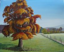Malters, Herbst, Malerei, Gemälde