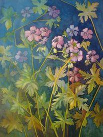 Frühling, Garten, Blau, Malters