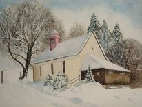 Dezember, Schneeflocken, Pfarrei schwarzenberg, Kälte