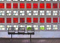 Sitzbank, Carolaplatz, Haltestelle, Fotografie