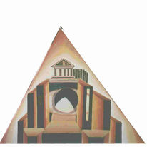 Multireal, Universum, Ölmalerei, Dreieck