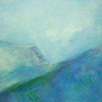 Umweltzerstörung, Erderwärmung, Natur, Malerei