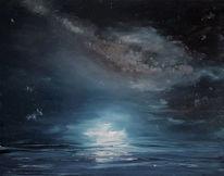Licht, Meer, Milchstraße, Himmel