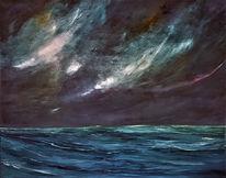 Himmel, Farben, Meer, Sturm
