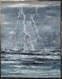 Wasser, Meer, Elemente, Sturm
