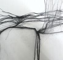 Kohlezeichnung, Zeichnung, Malerei,