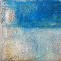 Transparenz, Blau, Erinnerung, Malerei