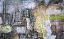 Architektur, Expressionismus, Rau, Stadt