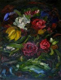 Blumen, Expressionismus, Malerei