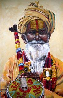 Sadu, Instrument, Indien, Shiva