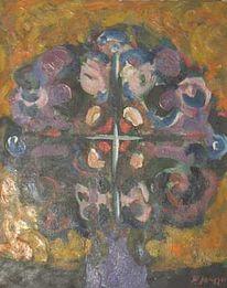 Expressionismus, Blumenbaum, Impressionismus, Gemälde