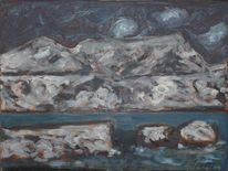 Landschaft, Malerei, 1957, Altea