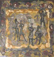 Holocaust, Malerei, Feld, Gemälde