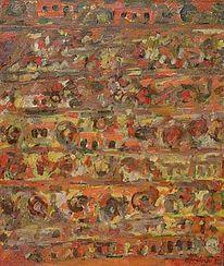 Holocaust, 1956, Düsseldorf, Malerei