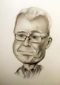Portrait, Karikatur, Zeichnung, Zeichnungen