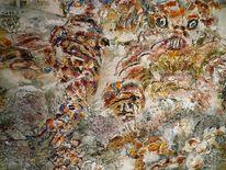 Traum, Acrylmalerei auf leinwand, Abstrakt, Malerei